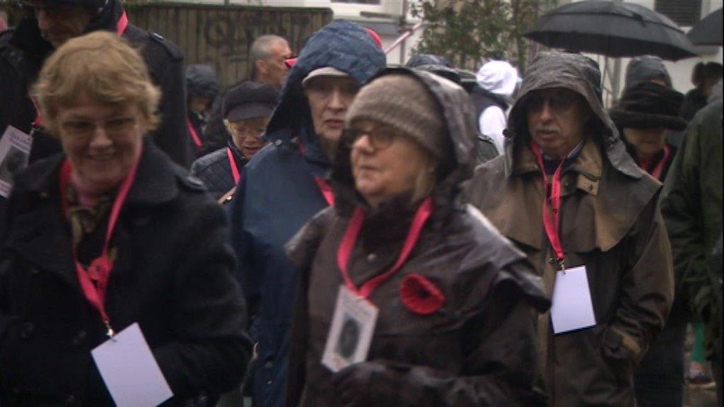 March remembers Cheltenham's fallen WW1 soldiers