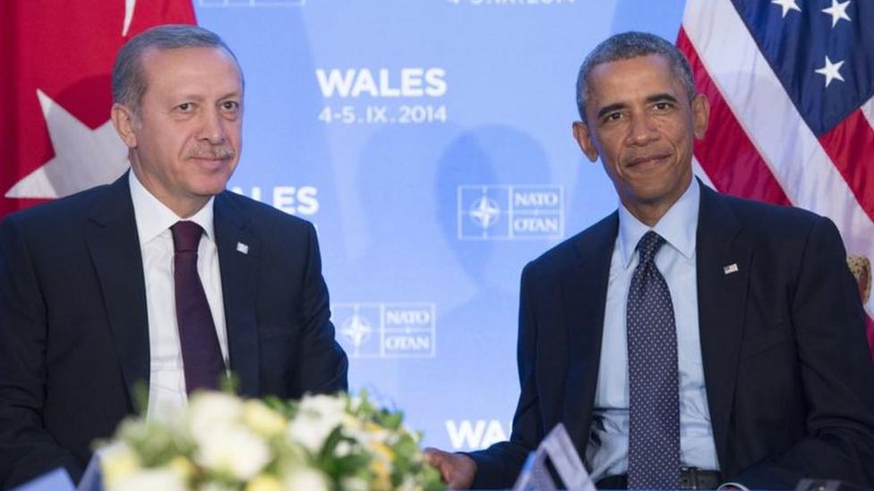 Erdoğan ve Obama