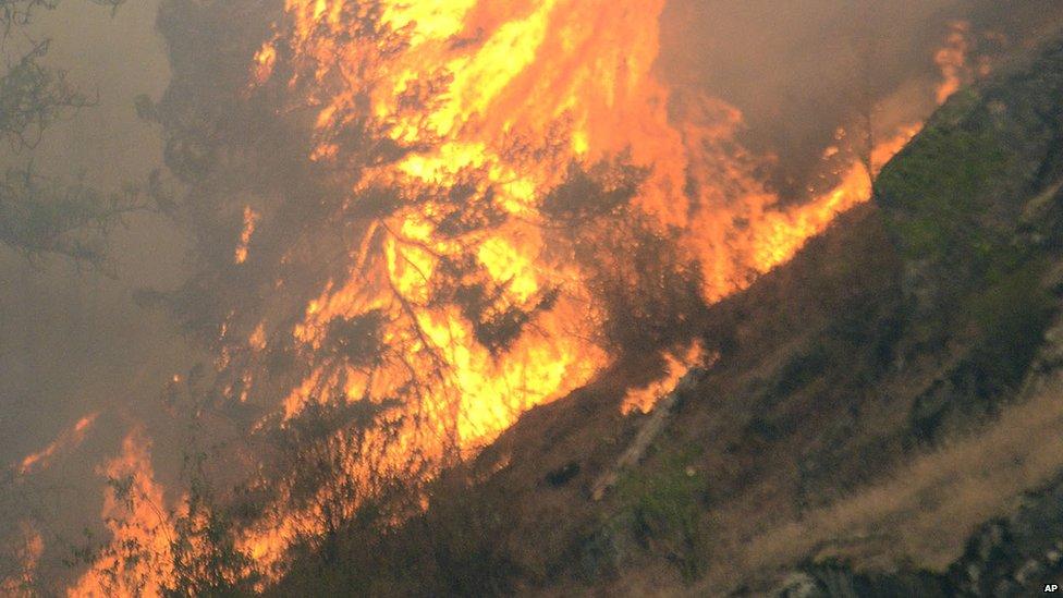 Fire in Idaho