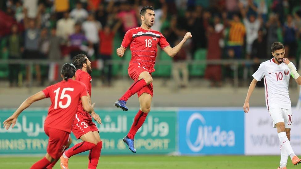 Suriah nyaris kehilangan tempat di Piala Dunia tahun lalu.