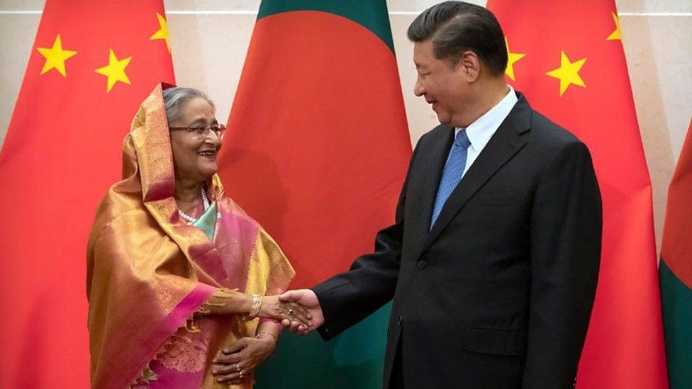 چین اور بنگلہ دیش کی قیادت