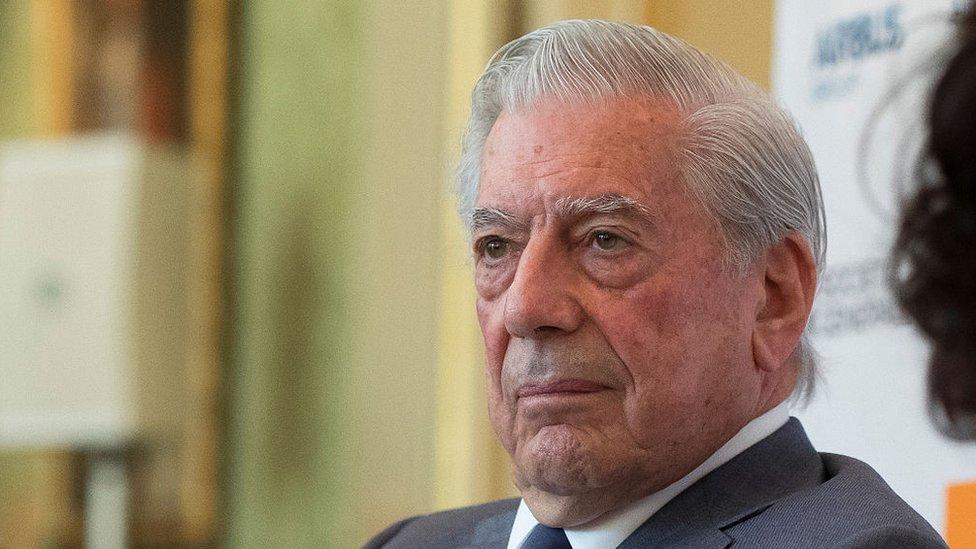 El escritor peruano Mario Vargas Llosa.