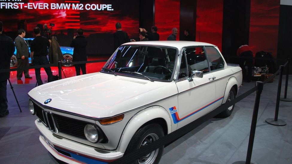 BMW 2002 turbo at the 2016 Detroit motor show