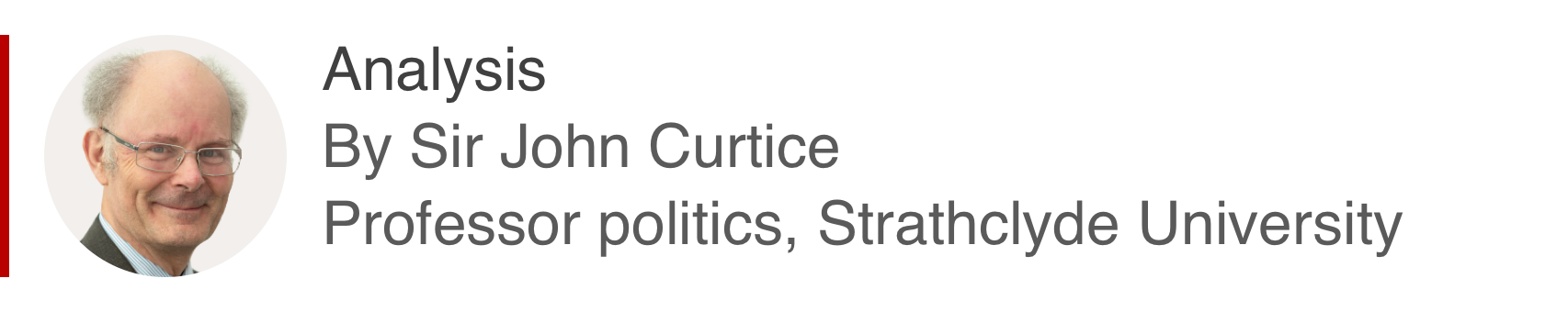 Analysis box by Sir John Curtice, professor politics, Strathclyde University