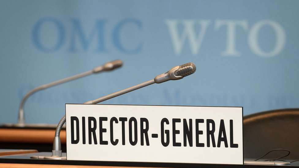 Empty WTO chair