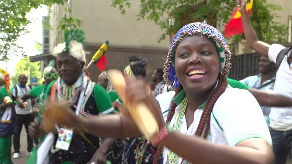 'Of course Senegal will win the World Cup' - fans celebrate in Moscow & Dakar