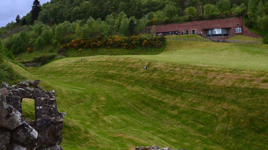 Community vote for Urquhart Castle visitor centre plan