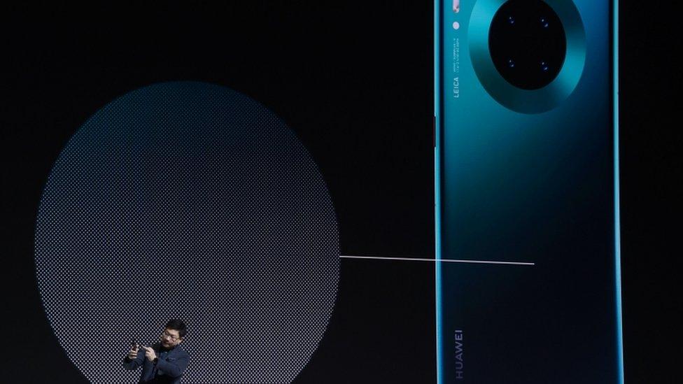 Presentación de Huawei,