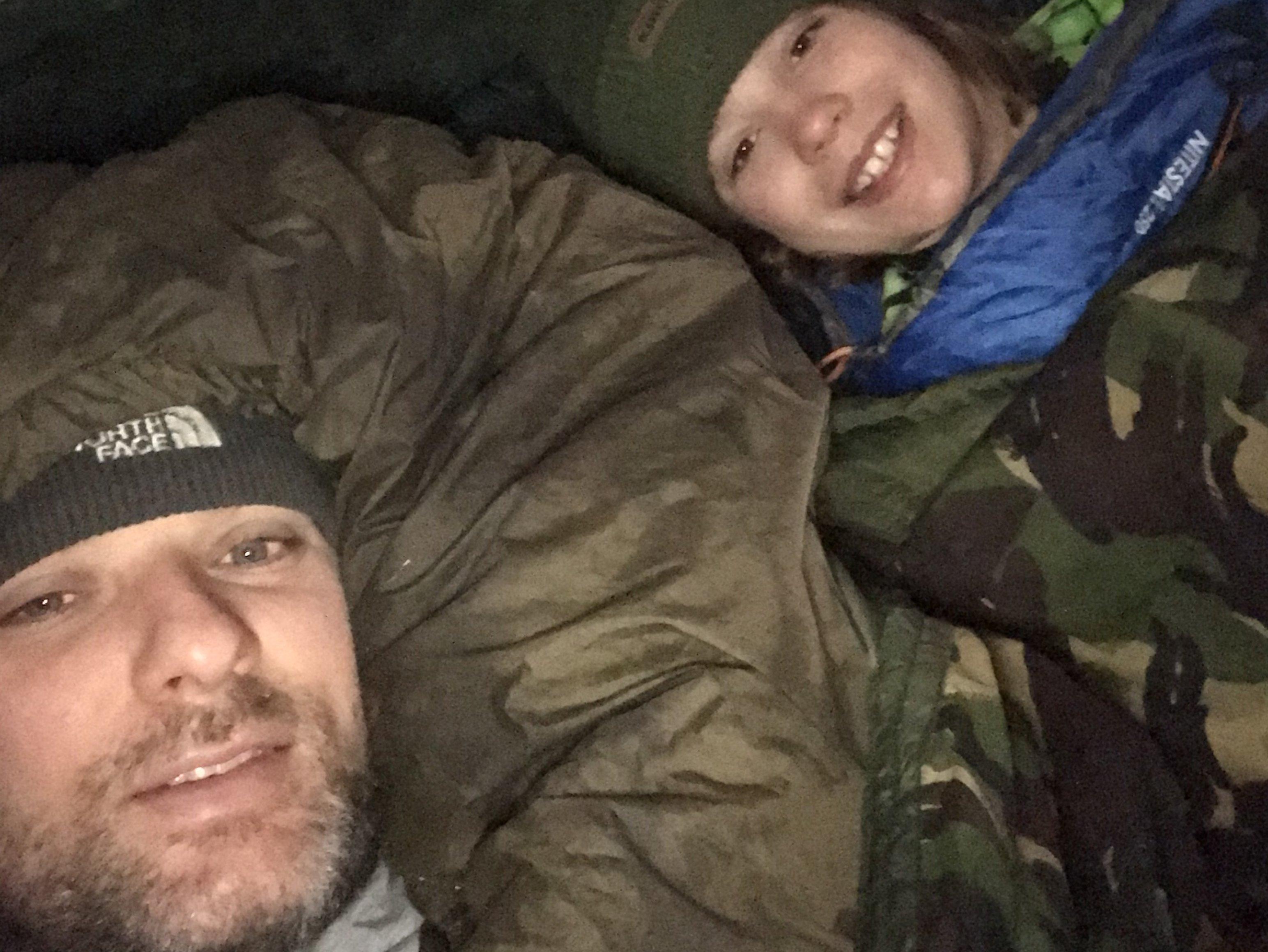 Alex Asbridge and his son Jesse