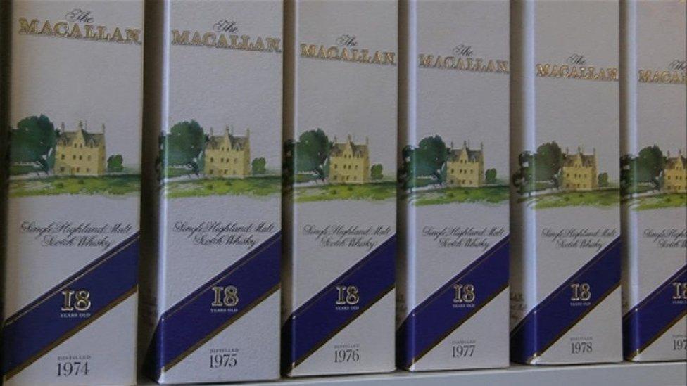 مشروب الشعير الفردي ماكالان (Macallan) الكحولي