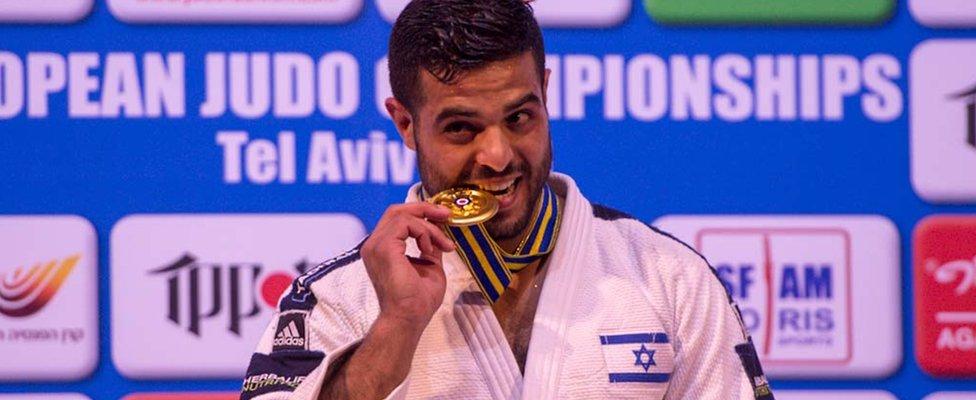 Izraelske atlete koje su osvojile medalje na turniru u Abu Dabiju prošlog oktobra slušale su generičku himnu, a ne svoju