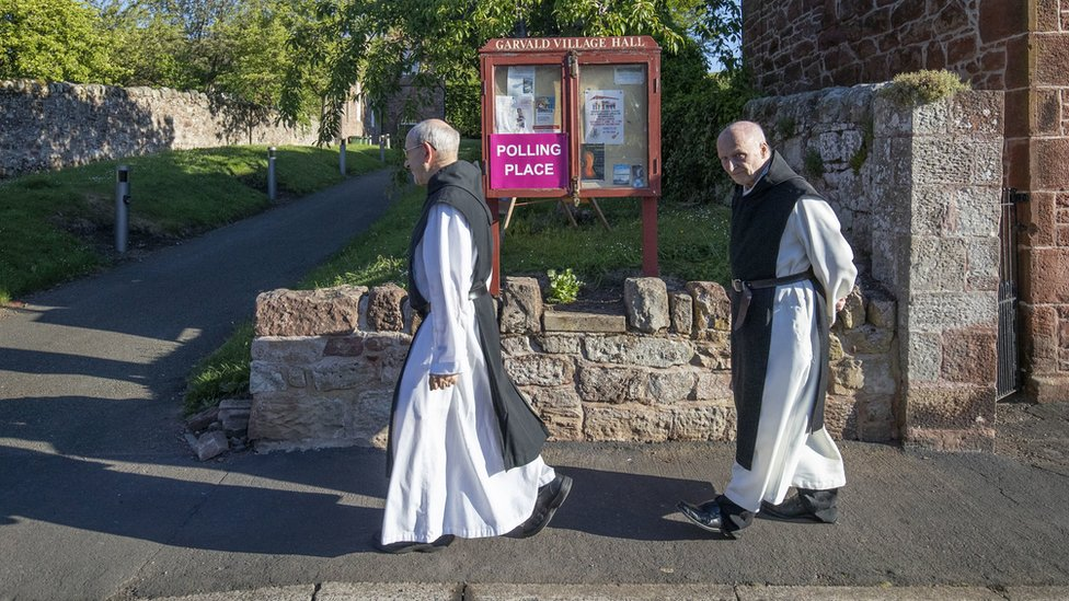 Monks in East Lothian