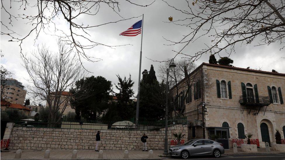 المقر السابق للقنصلية الأمريكية في القدس