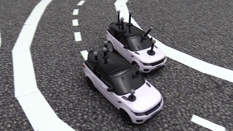 Mini driverless cars