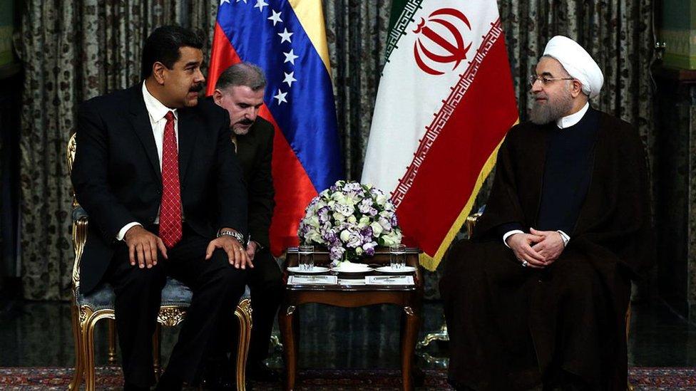 Maduro y Rohani