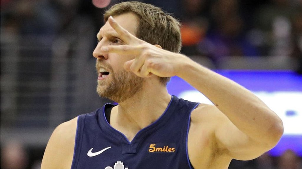 Dirk Nowitzki: Dallas Mavericks forward goes sixth on NBA all-time scoring list