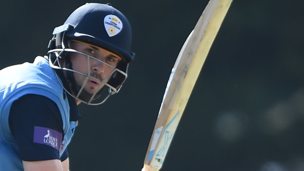 One-Day Cup: Derbyshire beat Leicestershire by five runs