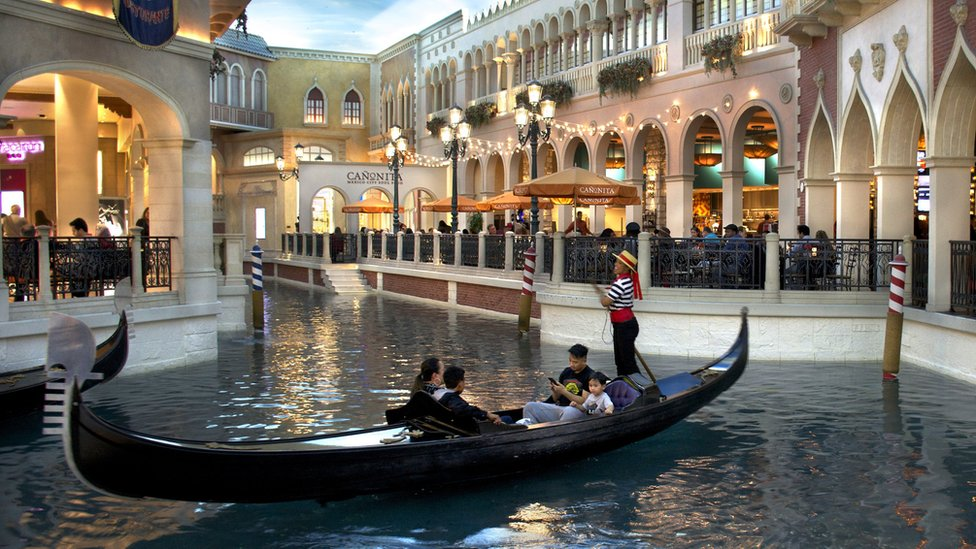 The Venetian resort owned by Sheldon Adelson