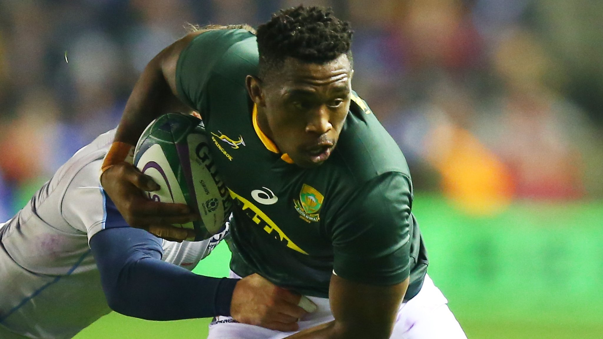 Siya Kolisi: You question what the TMO is doing - Stuart Hogg on headbutt incident