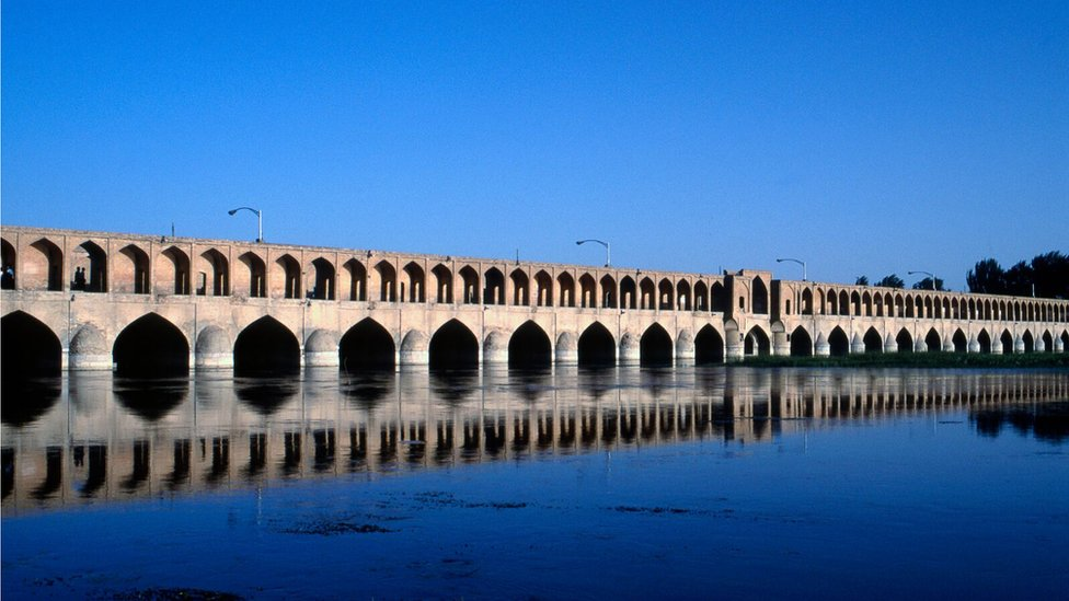 Zayandeh Roud before