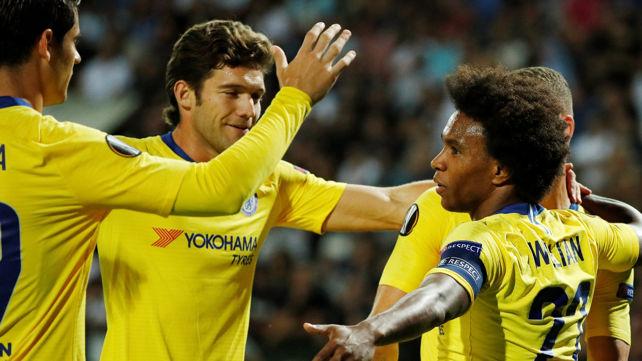 Willian scores winner as Chelsea beat PAOK Salonika