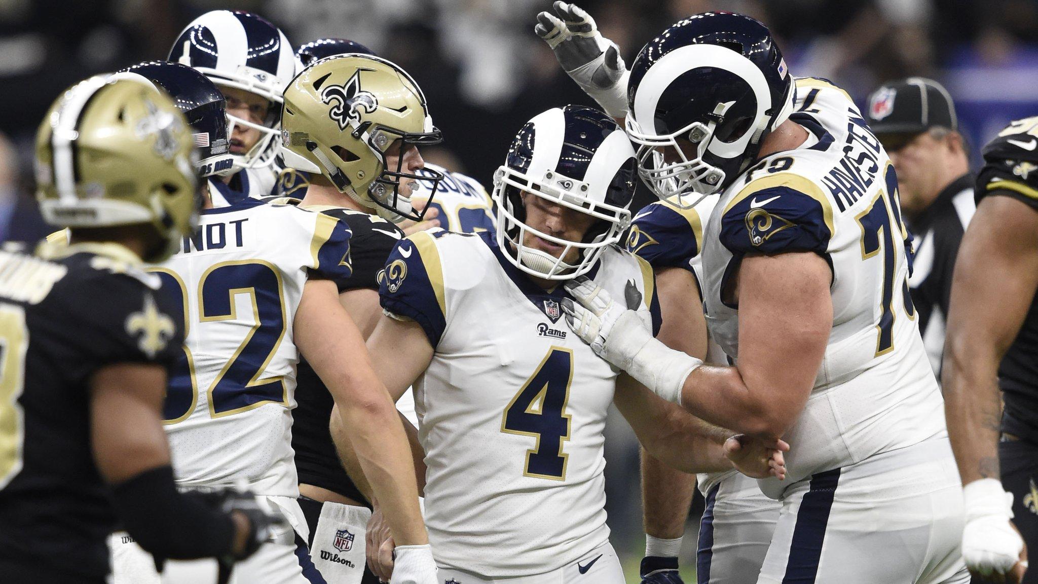 Super Bowl LIII: LA Rams beat New Orleans Saints in overtime to reach Atlanta showpiece