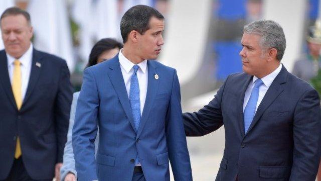 Duque y Guaidó