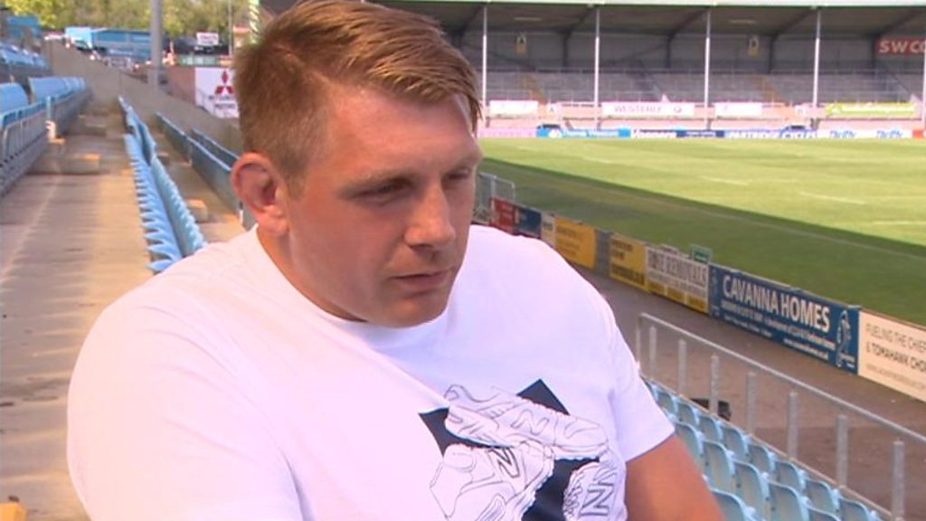 Carl Rimmer: Exeter Chiefs prop 'grateful to walk away with health' after stroke