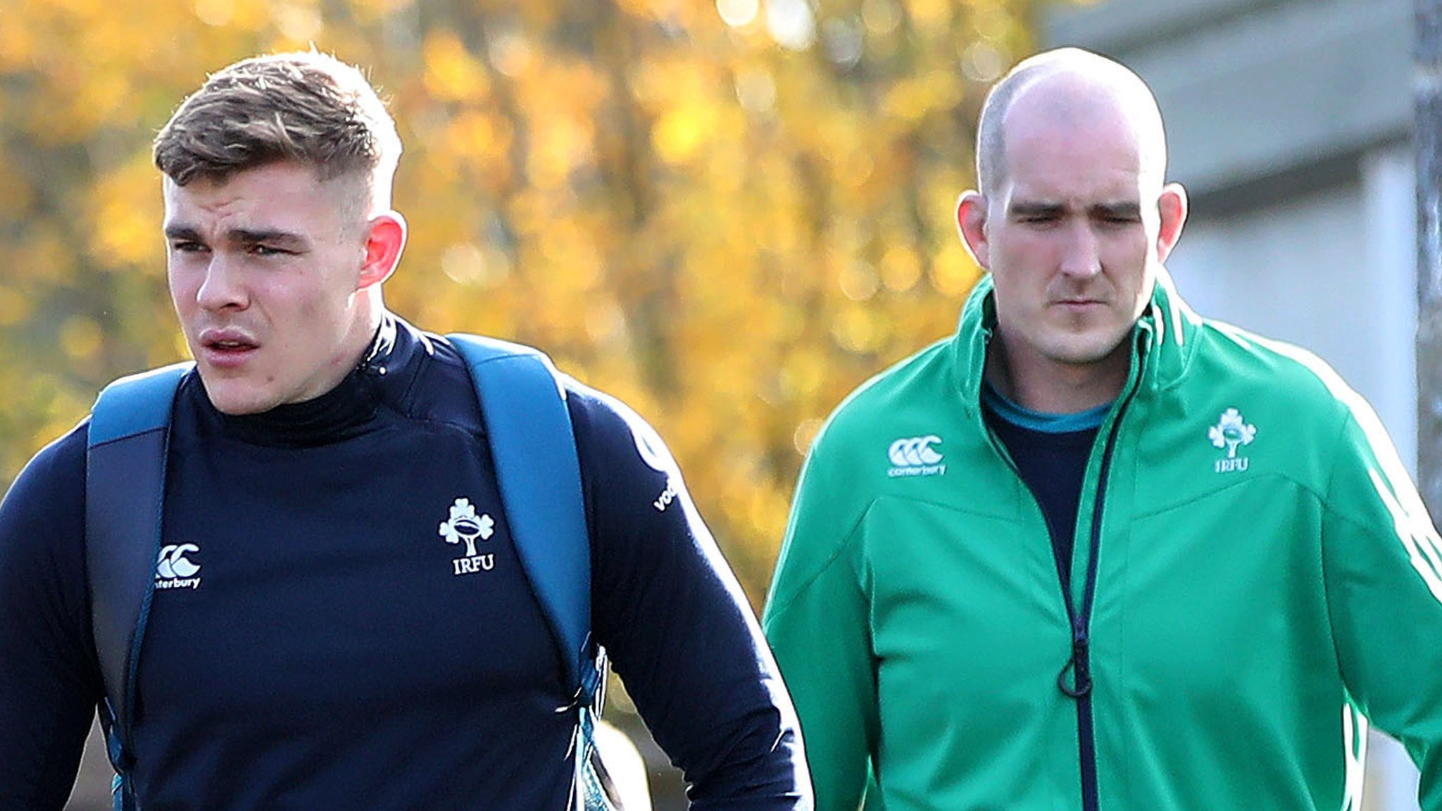 Ireland make four changes for All Blacks game