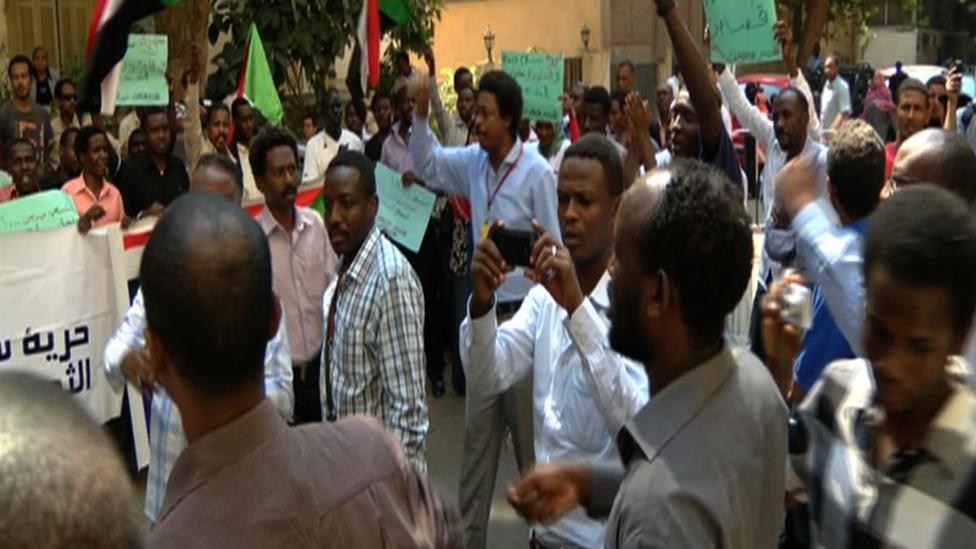 سودانيون في مصر