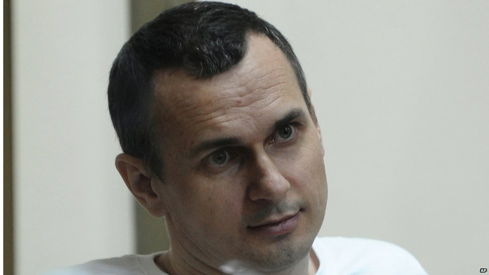 Oleg Sentsov (file pic July 2015)