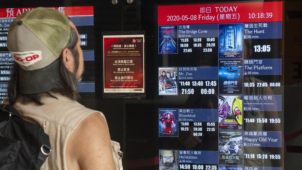 香港電影業界擔心,政府修例會影響創作自由。