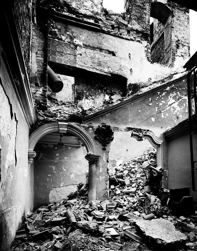 Srušena zgrada u dubrovačkom Starom gradu