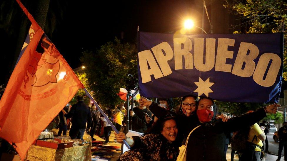 Celebración en Valparaíso, Chile