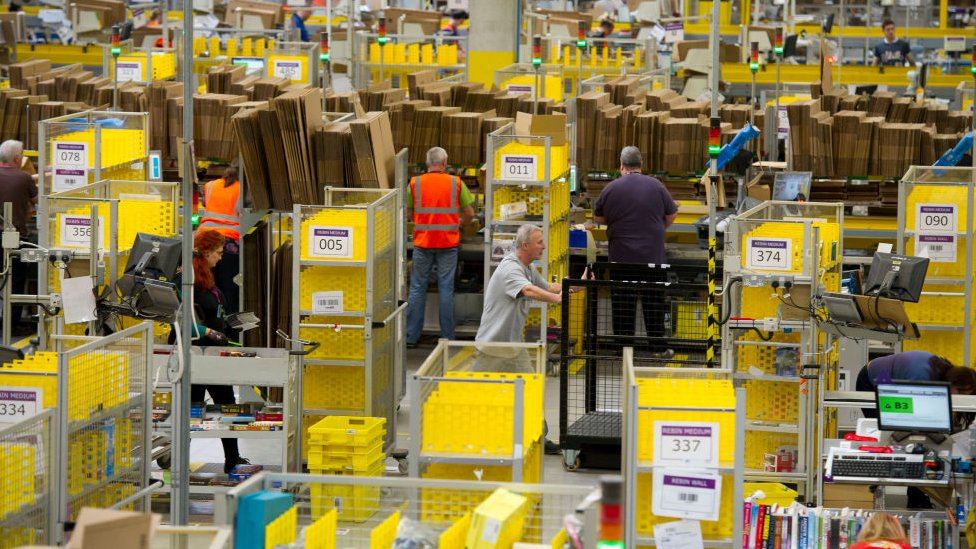Amazon Issues No Deal Brexit Advice To Uk Retailers Bbc News