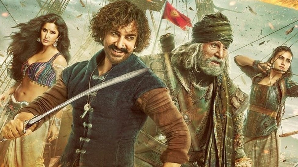 BBC News - Thugs of Hindostan: Critics sink Bollywood's 'Pirates of the Caribbean'