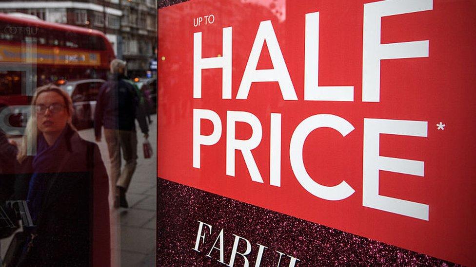 UK retail sales fall sharply in December