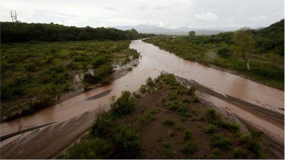 El río Yaqui