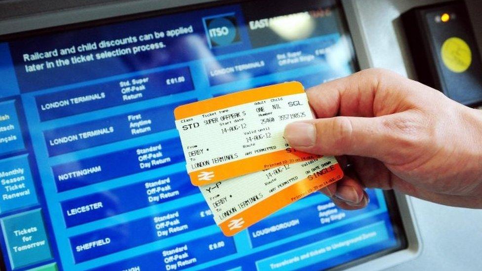 Multiple train tickets