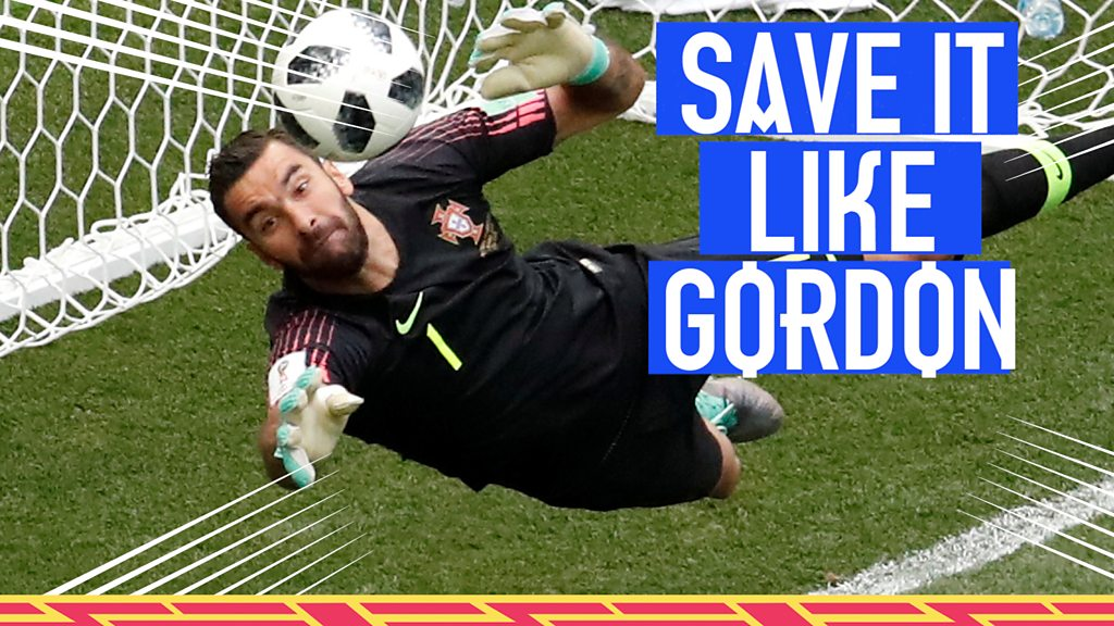 World Cup 2018: Rui Patricio's pulls off Gordon Banks-like save for Portugal