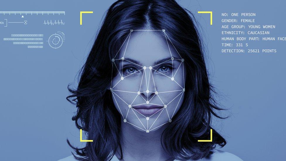 Un programa de reconocimiento facial