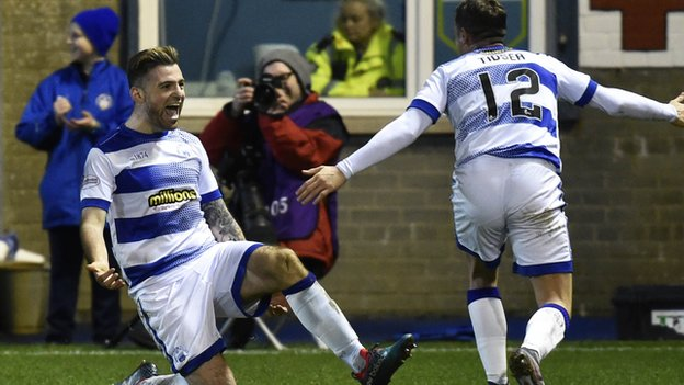 Greenock Morton 1-0 Ross County: Waddell goal moves hosts into fourth