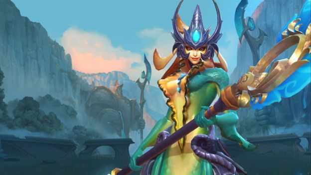 League Of Legends Admits Censoring Error Bbc News