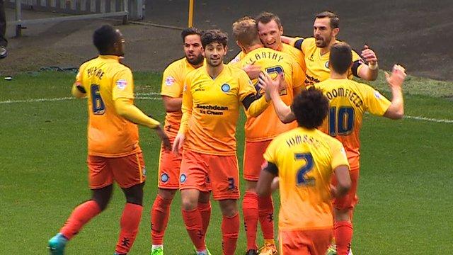 FA Cup: Halifax 0-1 Wycombe (Thompson 17')