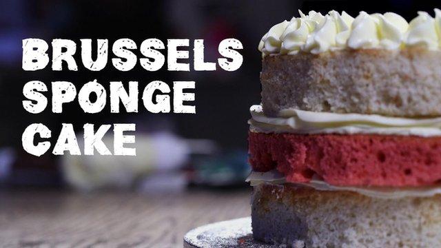 Brussels sponge cake