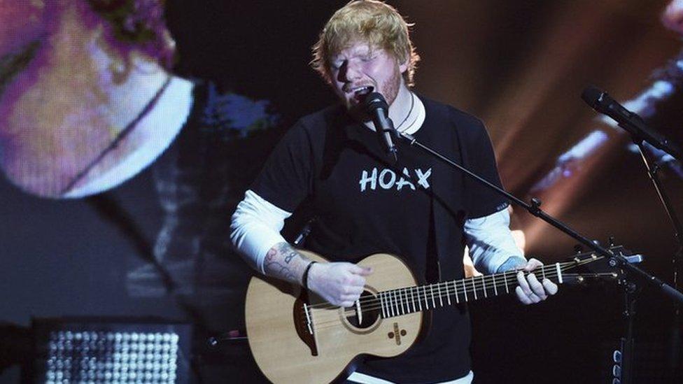 BBC News - Ed Sheeran: 'No evidence' star using wildlife pond as swimming pool