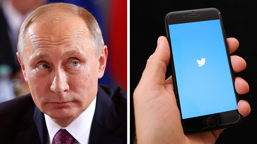 VladimirPutin/Tviter na telefonu