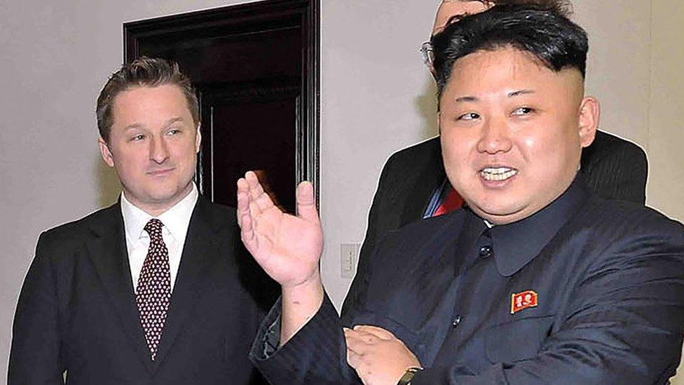 Michael Spavor organizó el encuentro entre Kim Jong-un y Dennis Rodman.