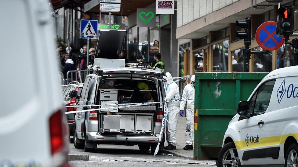 Ataque en Estocolmo, Suecia, 2017