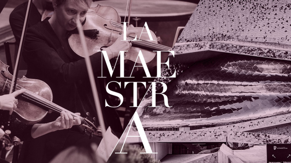 A poster of the La Maestra competition